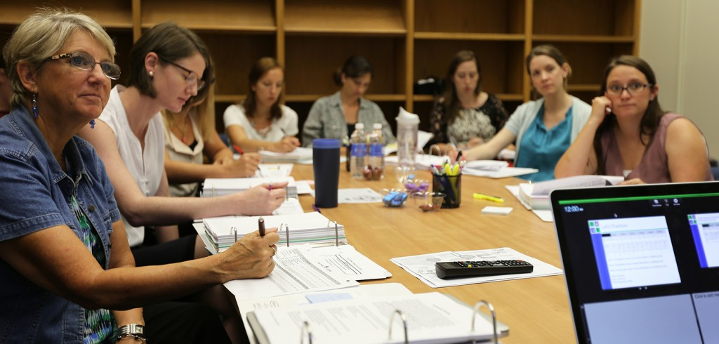 A week-long training to support the Tools for Teachers study was held in July at the Anita Zucker Center.
