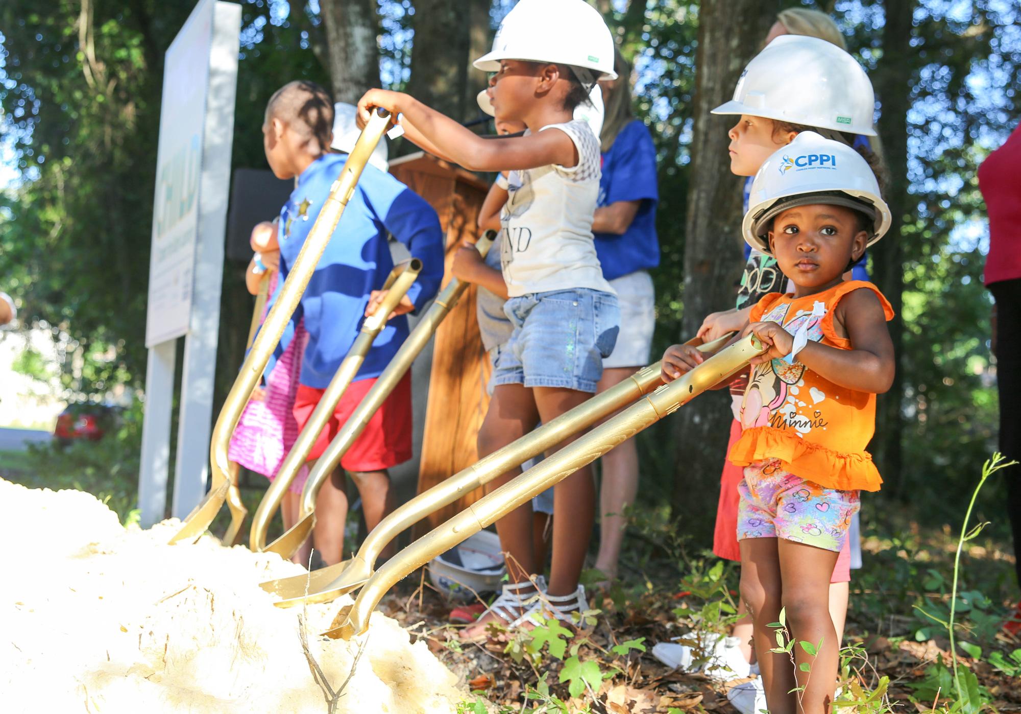 Center Members Help Break Ground on New CHILD Center