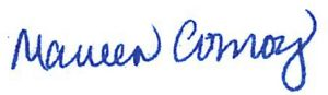 Maureen Conroy signature