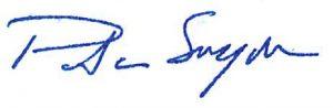 Patricia Snyder signature