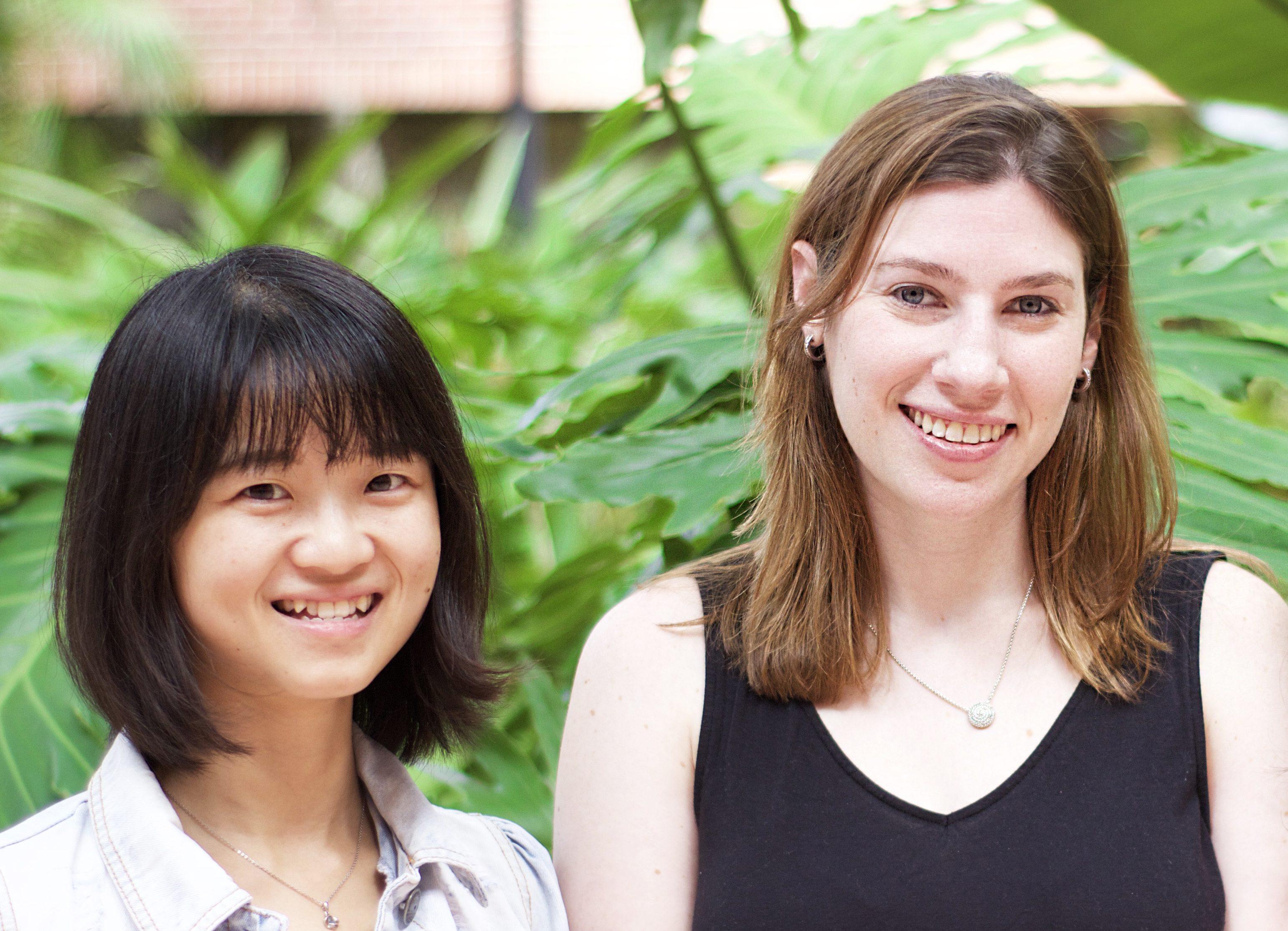 Twinkle Zheng and Sara Germansky
