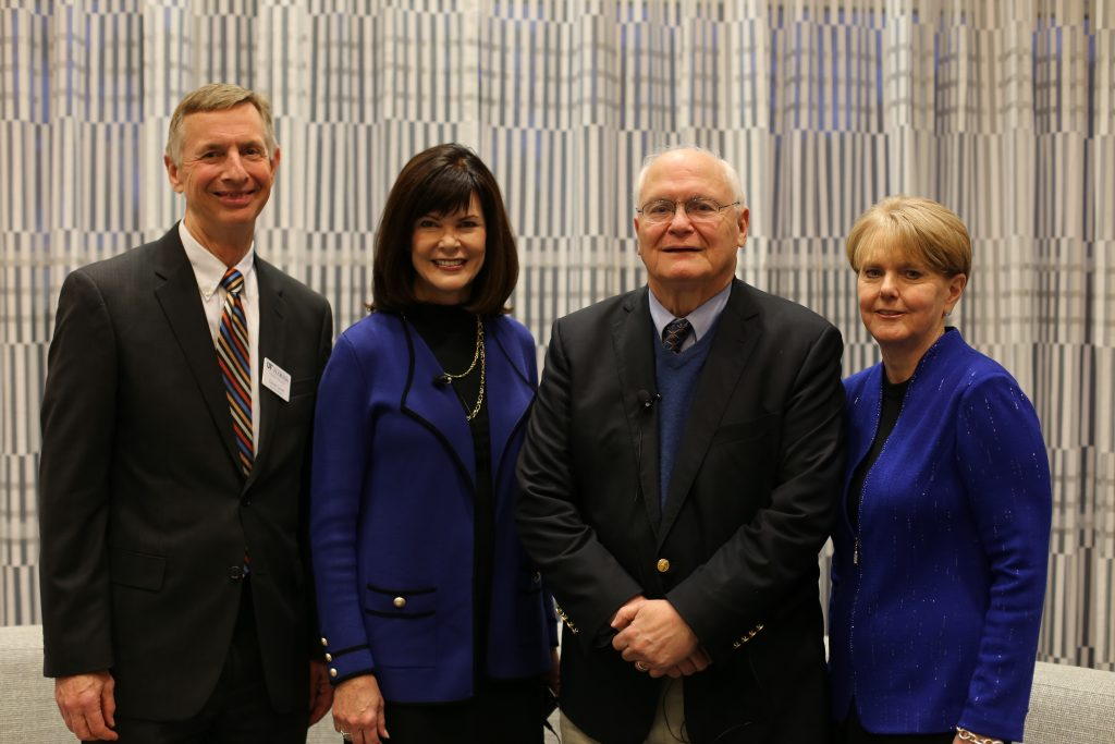 Glenn Good, Diane McFarlin, David Lawrence, Jr., and Patricia Snyder