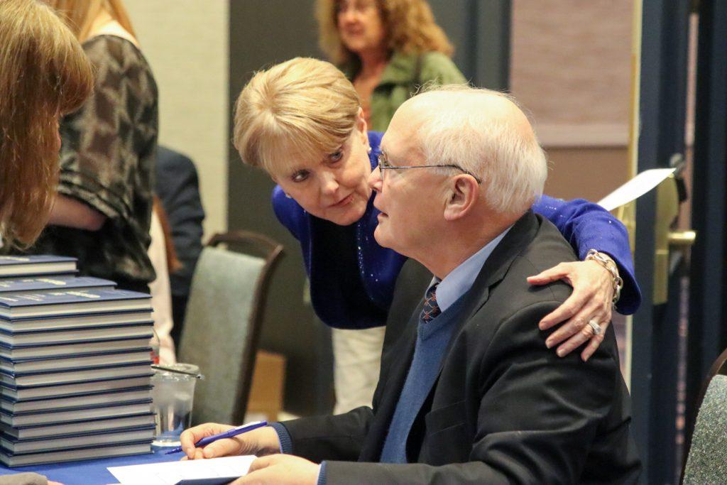 Patricia Snyder and David Lawrence Jr.