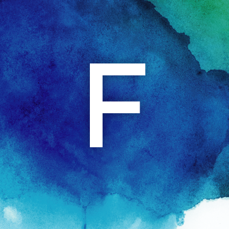 Letter F Card