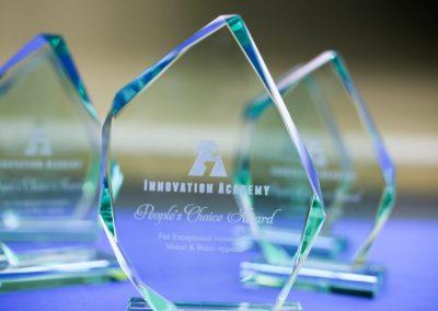 The awards for Innovation Academy 2019.