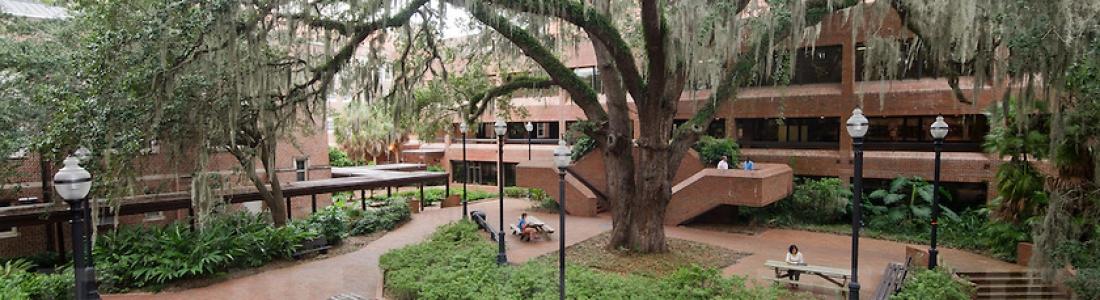 Norman Hall courtyard