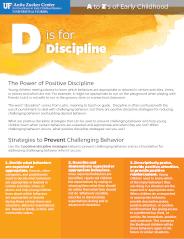 Notes on D: Discipline
