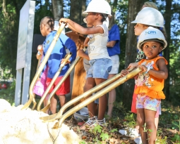 Center Members Help Break Ground on New CHILD Center