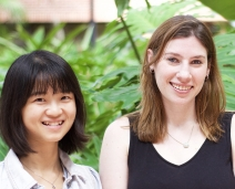 Anita Zucker Center welcomes two new doctoral students