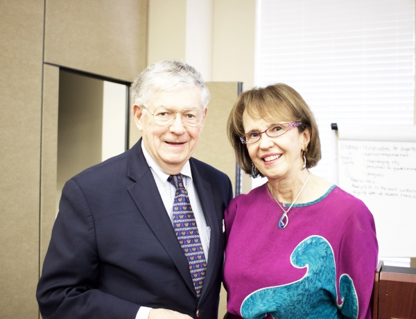 Turnbulls emphasize dignity and trusting partnerships in inaugural Early Childhood Symposium Series
